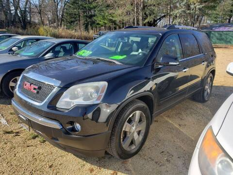 2010 GMC Acadia for sale at Northwoods Auto & Truck Sales in Machesney Park IL