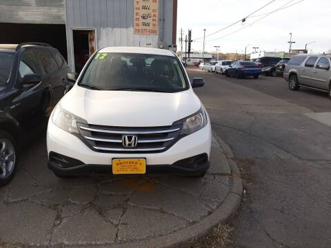 2012 Honda CR-V for sale at Brothers Used Cars Inc in Sioux City IA