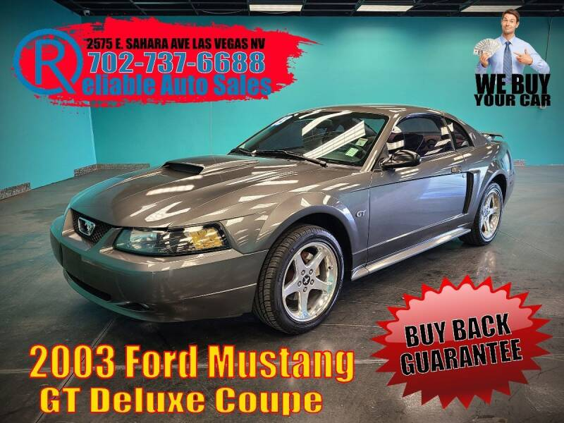 2003 Ford Mustang for sale at Reliable Auto Sales in Las Vegas NV