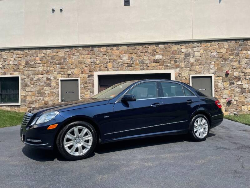 2012 Mercedes-Benz E-Class for sale at Shedlock Motor Cars LLC in Warren NJ