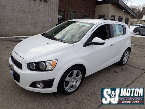 2016 Chevrolet Sonic for sale at S & J Motor Co Inc. in Merrimack NH