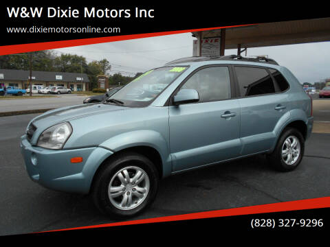 2008 Hyundai Tucson for sale at W&W Dixie Motors Inc in Hickory NC