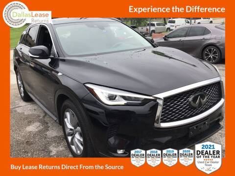 2020 Infiniti QX50 for sale at Dallas Auto Finance in Dallas TX