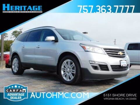 2015 Chevrolet Traverse for sale at Heritage Motor Company in Virginia Beach VA