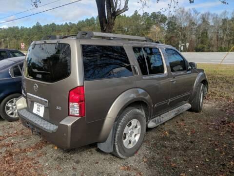 2005 Nissan Pathfinder for sale at Ebert Auto Sales in Valdosta GA
