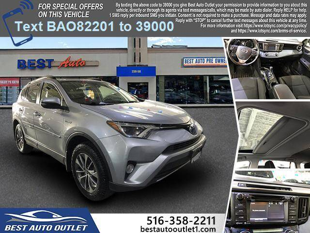 2018 Toyota RAV4 Hybrid for sale at Best Auto Outlet in Floral Park NY