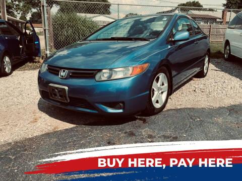 2007 Honda Civic for sale at Marti Motors Inc in Madison IL