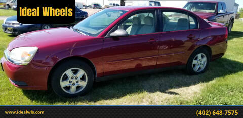 2005 Chevrolet Malibu for sale at Ideal Wheels in Bancroft NE