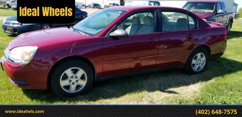 2005 Chevrolet Malibu for sale at Ideal Wheels in Bancroft NE