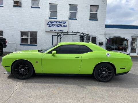 2015 Dodge Challenger for sale at Lightning Auto Sales in Springfield IL
