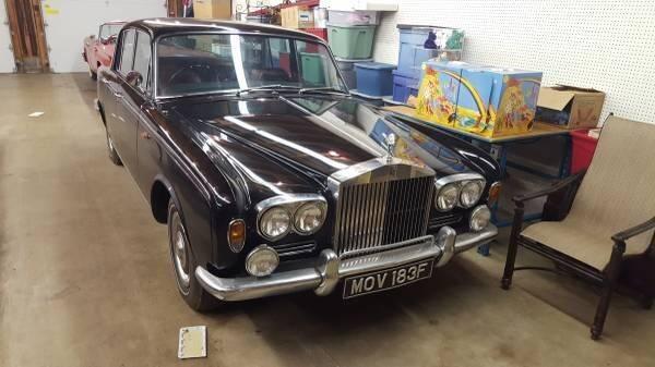 1968 Rolls-Royce Silver Shadow for sale in Cadillac, MI
