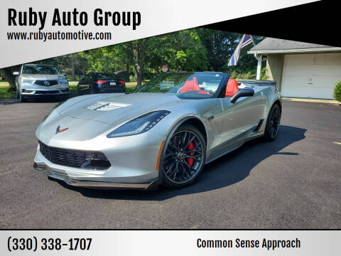 2015 Chevrolet Corvette for sale at Ruby Auto Group in Hudson OH