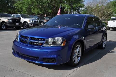 2014 Dodge Avenger for sale at STEPANEK'S AUTO SALES & SERVICE INC. in Vero Beach FL
