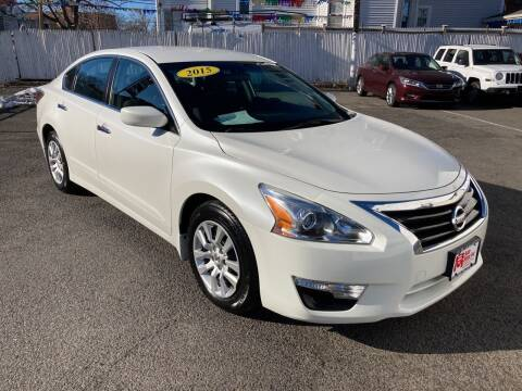 2015 Nissan Altima for sale at B & M Auto Sales INC in Elizabeth NJ