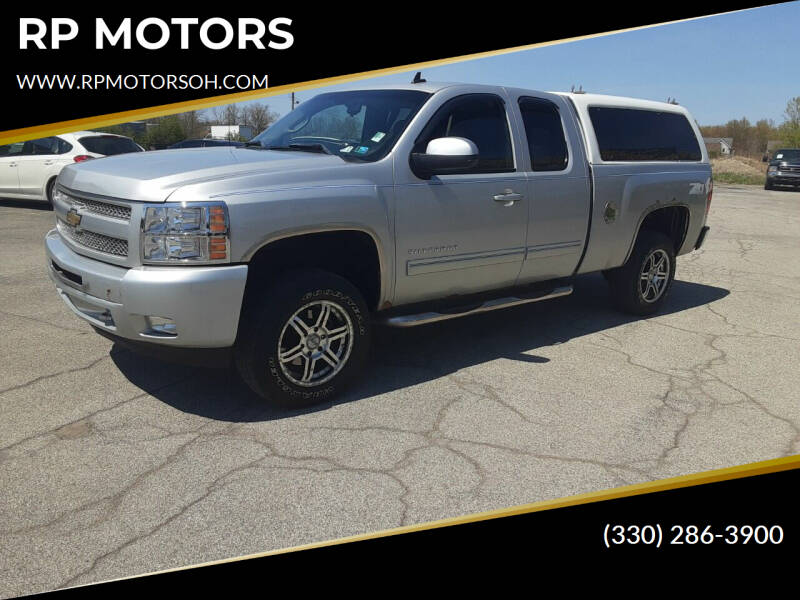 2010 Chevrolet Silverado 1500 for sale at RP MOTORS in Canfield OH