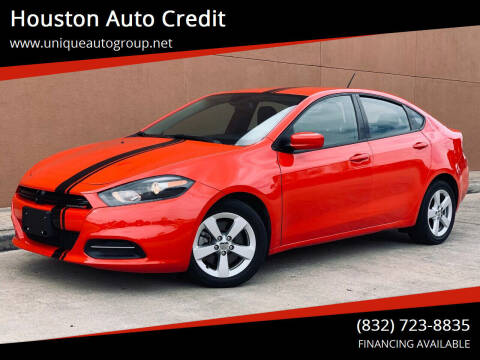 2016 Dodge Dart for sale at Houston Auto Credit in Houston TX
