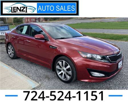 2013 Kia Optima for sale at LENZI AUTO SALES in Sarver PA