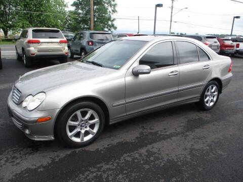 2007 Mercedes-Benz C-Class for sale at FINAL DRIVE AUTO SALES INC in Shippensburg PA
