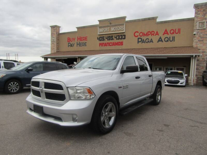 2013 RAM Ram Pickup 1500 for sale at Import Motors in Bethany OK
