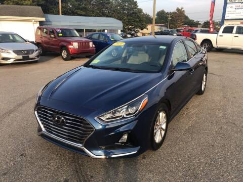2019 Hyundai Sonata for sale at U FIRST AUTO SALES LLC in East Wareham MA