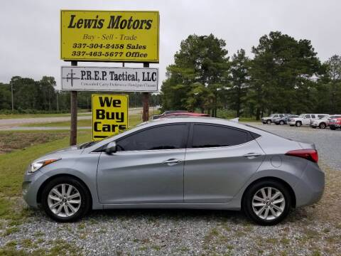 2015 Hyundai Elantra for sale at Lewis Motors LLC in Deridder LA