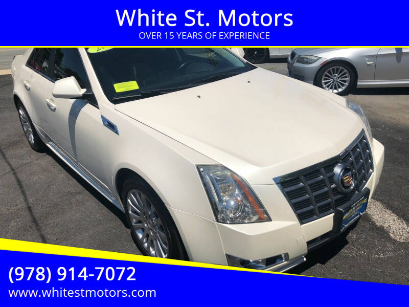2012 Cadillac CTS for sale at White St. Motors in Haverhill MA