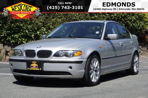 2003 BMW 3 Series for sale at West Coast Auto Works in Edmonds WA