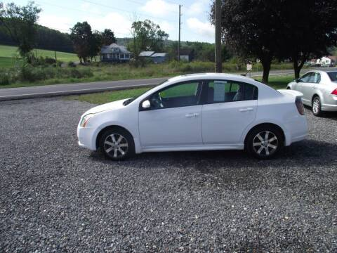 2011 Nissan Sentra for sale at Country Truck and Car Lot II in Richfield PA