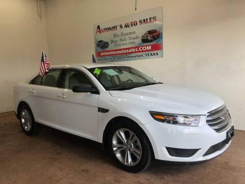 2017 Ford Taurus for sale at Antonio's Auto Sales - Antonio`s  2206 in Pasadena TX