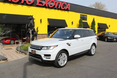 2016 Land Rover Range Rover Sport for sale at Auto Exotica in Red Bank NJ