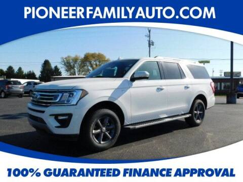 2020 Ford Expedition MAX for sale at Pioneer Family auto in Marietta OH