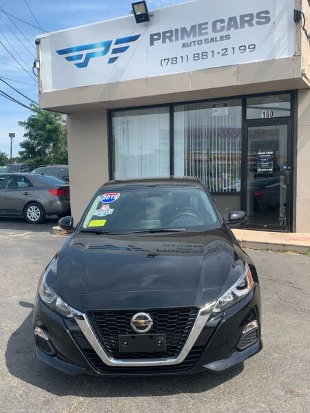 2019 Nissan Altima for sale at Prime Cars Auto Sales in Saugus MA