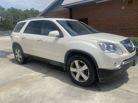 2012 GMC Acadia for sale at Lenherr Auto Sales in Wilmington NC