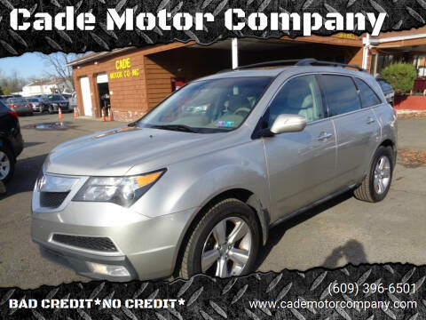 2012 Acura MDX for sale at Cade Motor Company in Lawrenceville NJ