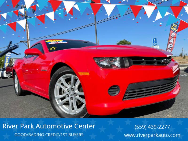 2015 Chevrolet Camaro for sale at River Park Automotive Center in Fresno CA