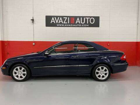 2004 Mercedes-Benz CLK for sale at AVAZI AUTO GROUP LLC in Gaithersburg MD