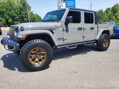 2021 Jeep Gladiator for sale at Brown's Used Auto in Belmont NC