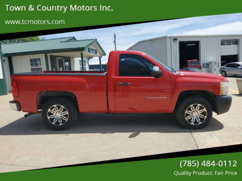 2010 Chevrolet Silverado 1500 for sale at Town & Country Motors Inc. in Meriden KS