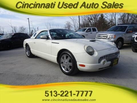 2002 Ford Thunderbird for sale at Cincinnati Used Auto Sales in Cincinnati OH