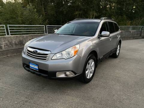 2010 Subaru Outback for sale at Zipstar Auto Sales in Lynnwood WA