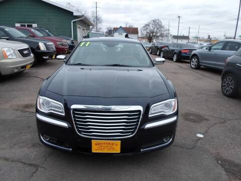 2011 Chrysler 300 for sale at Brothers Used Cars Inc in Sioux City IA