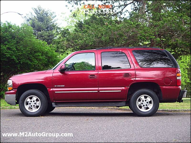 2002 Chevrolet Tahoe for sale at M2 Auto Group Llc. EAST BRUNSWICK in East Brunswick NJ
