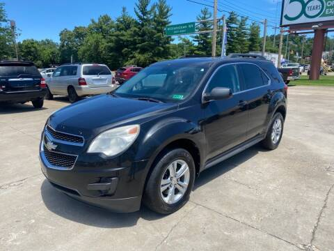 2011 Chevrolet Equinox for sale at Wolfe Brothers Auto in Marietta OH