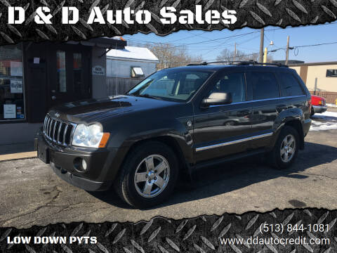 2005 Jeep Grand Cherokee for sale at D & D Auto Sales in Hamilton OH