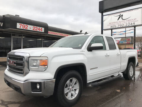 2015 GMC Sierra 1500 for sale at NORRIS AUTO SALES in Oklahoma City OK
