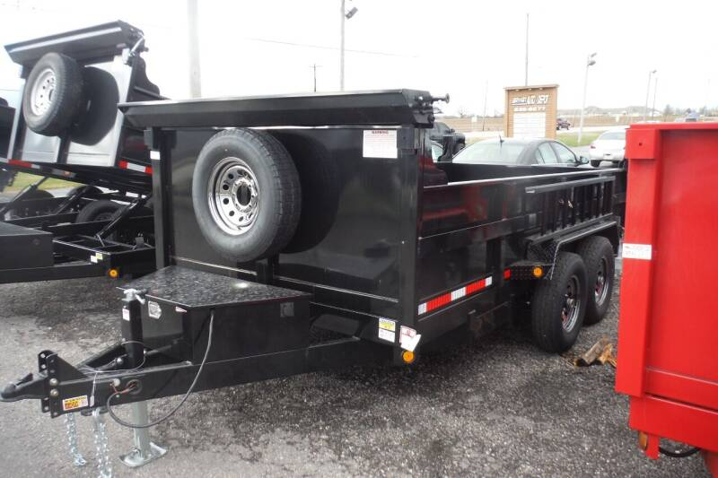 2021 Quality Steel 83 X 14 DUMP 14000LBS for sale at Bryan Auto Depot in Bryan OH