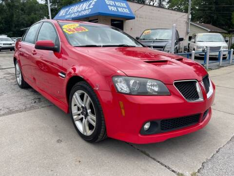 2008 Pontiac G8 for sale at Great Lakes Auto House in Midlothian IL