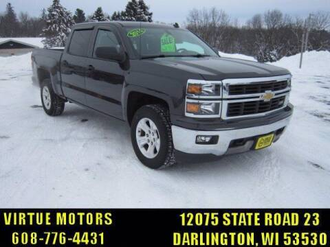 2014 Chevrolet Silverado 1500 for sale at Virtue Motors in Darlington WI