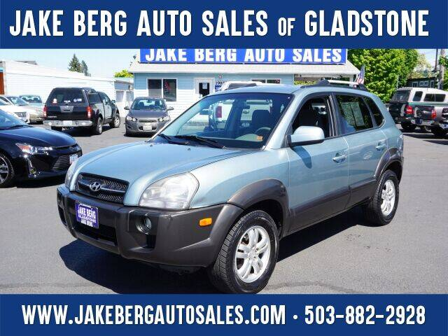2006 Hyundai Tucson for sale at Jake Berg Auto Sales in Gladstone OR