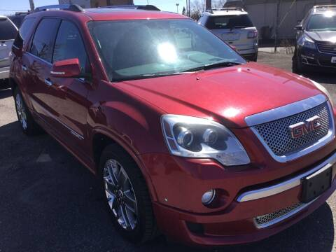 2012 GMC Acadia for sale at eAutoDiscount in Buffalo NY